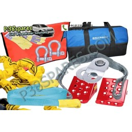 Advanced Winch Recovery Kit - Winching - All Models - supplied by p38spares kit, all, recovery, models, -, Winch, Winching, Ad
