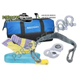 Starter Winch Recovery Kit With Tow Strap - Winching - All Models - supplied by p38spares with, kit, all, starter, recovery, m
