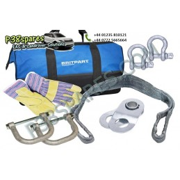 Starter Winch Recovery Kit With Jate Rings - Winching - All Models