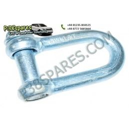 'D' Shackle - Winching - All Models - supplied by p38spares all, models, -, Shackle, Winching, 'D', Db1353