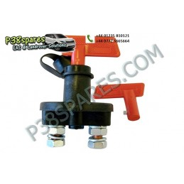 Universal Battery Isolator Switch - Winching - All Models - supplied by p38spares all, battery, switch, models, -, Universal,