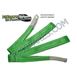 2 Ton Flat Webbing Sling - Winching - All Models - supplied by p38spares 2, all, models, -, Winching, Flat, Sling, Ton, Webbin