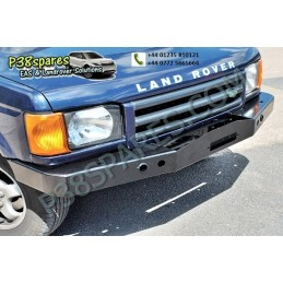 Heavy-Duty Steel Winch Bumper - Winching - Discovery 2 Models - supplied by p38spares 2, discovery, steel, models, -, Winch, B