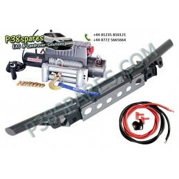 Tubular Bumper Kit - Winching - Defender Models Air suspension Tubular Bumper Kit Land Rover - Winch With Steel Cable. .