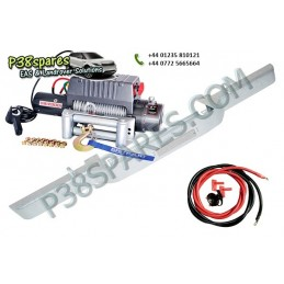 Standard Galvanised Bumper Kit - Winching - Defender Models Air suspension Standard Galvanised Bumper Kit Land Rover - Winch