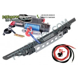 Tubular Bumper Kit - Winching - Defender Models Air suspension Tubular Bumper Kit Land Rover - Winch With Dyneema Rope. .