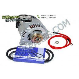 Alternator Upgrade Kit - .Upgrade The 45A Alternator To 100A. . .Defender - 200Tdi. . - All Models. - supplied by p38spares to