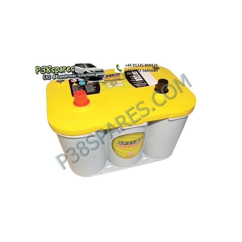 Optima Yellow Top - 12 Volt - .Capacity. 55Ah. .Cold Cranking Amps (Cca). 765. . . - All Models.