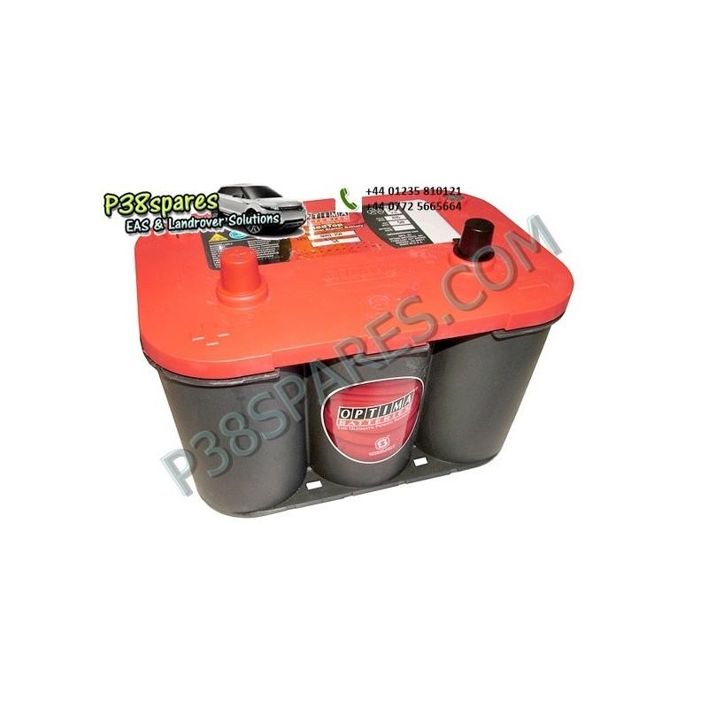 Optima Red Top - 12 Volt - .Capacity. 50Ah. .Cold Cranking Amps (Cca). 815. . . - All Models.