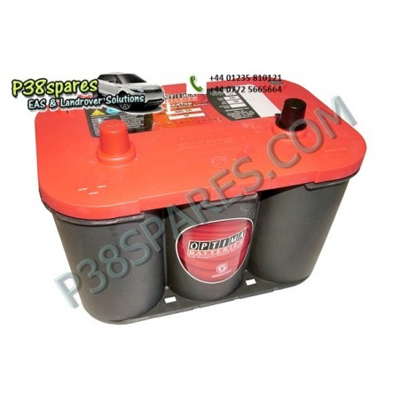 Optima Red Top - 12 Volt -   .Capacity . 50Ah.  .Cold Cranking Amps (Cca) . 815.  . . -  All Models