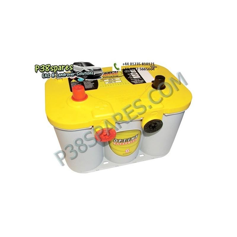 Optima Yellow Top - 12 Volt - Capacity. 55Ah. .Cold Cranking Amps (Cca). 765. . . - All Models.