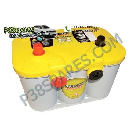 Optima Yellow Top - 12 Volt -   Capacity . 55Ah.  .Cold Cranking Amps (Cca) . 765.  . . -  All Models