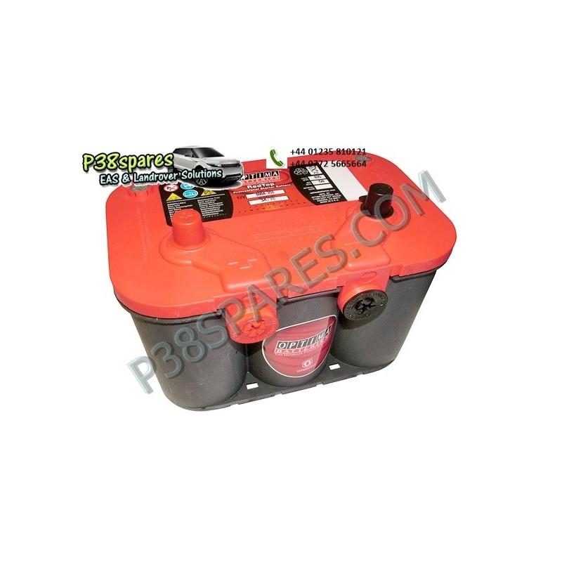 Optima Red Top - 12 Volt - Capacity. 50Ah. .Cold Cranking Amps (Cca). 815. . . - All Models.