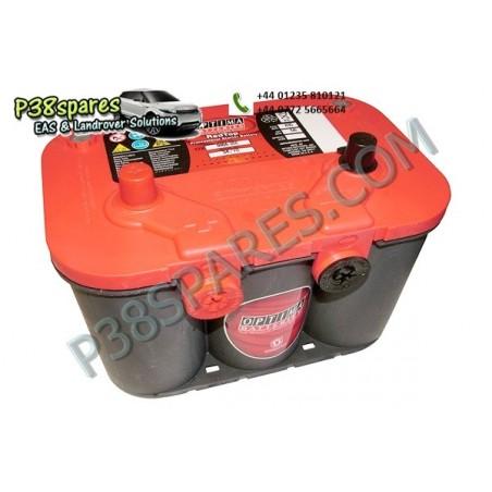 Optima Red Top - 12 Volt -   Capacity . 50Ah.  .Cold Cranking Amps (Cca) . 815.  . . -  All Models