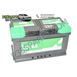 Battery - .Volts - 12. .Capacity. 80Ah. .Cold Cranking Amps (Cca). 770. . . - All Models. - supplied by p38spares all, battery