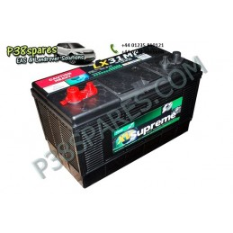 Battery - .Volts - 12. .Capacity. 100Ah. .Cold Cranking Amps (Mca). 1000. . . - All Models. - supplied by p38spares all, batte