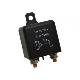 Split Charge Relay - .Heavy-Duty 200A. - All Models - supplied by p38spares all, models, -, Relay, Split, Charge,.Heavy-Duty,