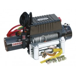 Britpart 12000 Lbs 3.6 Kw Pulling Power Winch - Steel Cable - 24 Volt - All Models