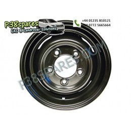 "16"" X 5.5F - Wheels - Series Models Air suspension 16"" X 5.5F Land Rover - .Primed. .Standard - Welded Tubed. . .Defender."