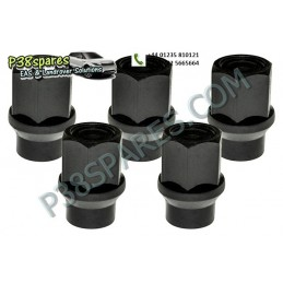 Set Of 5 Spare Wheel Nuts -...