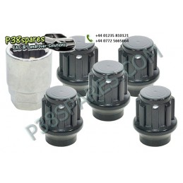 Set Of 5 Locking Wheel Nuts...