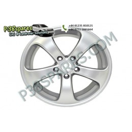 "18"" X 8.5 - Silver Alessio 5 Star - Wheels - Range Rover P38 Models - supplied by p38spares 5, rover, range, x, p38, wheels, m"