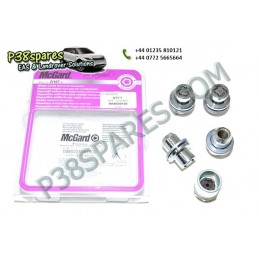 Locking Wheel Nuts & Key Kit - Wheels - Range Rover L322 Models Air suspension Locking Wheel Nuts & Key Kit Land Rover - .