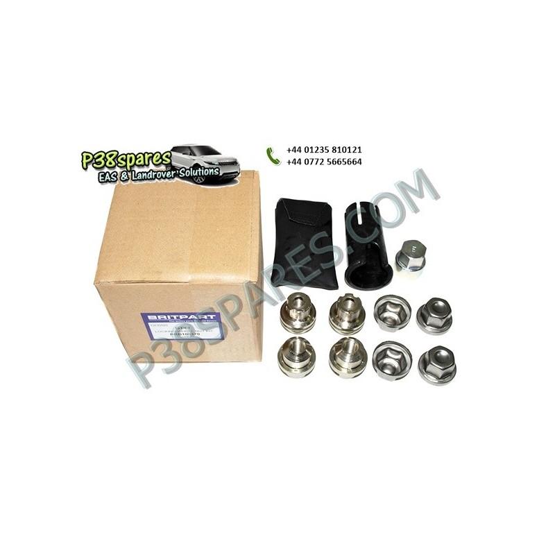 Locking Wheel Nuts & Key Kit - Wheels - Range Rover P38 Models