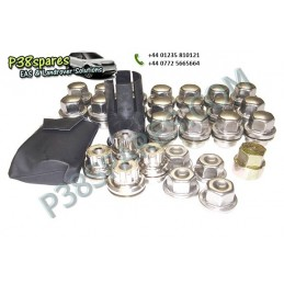 Locking Wheel Nuts & Key Kit - Wheels - Discovery 2 Models