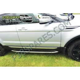 Stainless Steel Side Protection Tubes -    -  Range Rover Evoque Models