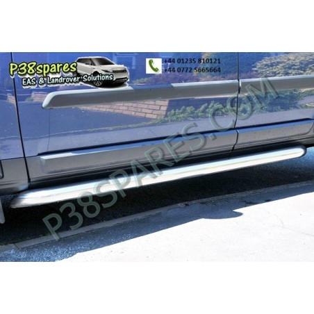 Stainless Steel Side Protection Tubes -    -  Discovery 3 Models