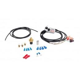 Handlebar-Mounted Push Button Controller wiht LED Pressure Gauge (chrome)