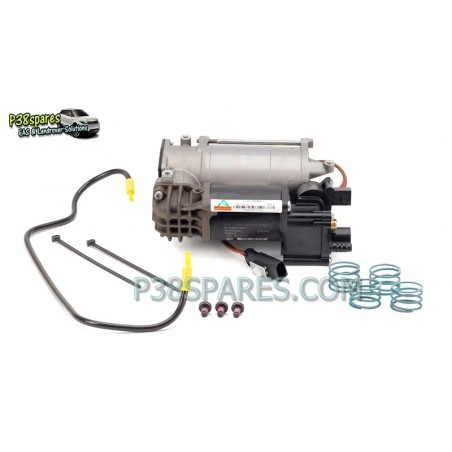 Wabco BMW 5 Series F07 Grand Tourismo, F11 Touring (wagon) Air Suspension Compressor with Integrated Dryer 2010 - 2014