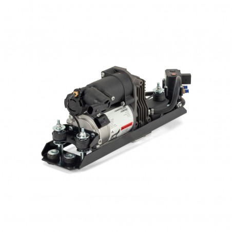 Arnott BMW 5 Series E61EAS Air Suspension Compressor Pump with Valve Block, Dryer & Intake Air Hose 2004-2010