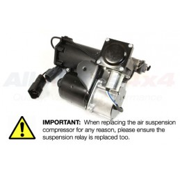 Dunlop Land Rover Discovery 3 & 4 Air Suspension Compressor