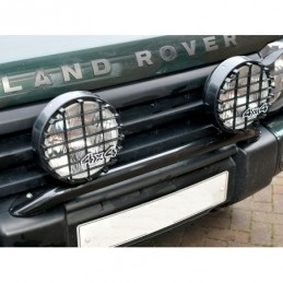 Driving Lamps Pair 8 Inch Black Land Rover Discovery 1 Models 1989 - 1998 - Britpart Air suspension Driving Lamps Pair 8 Inch