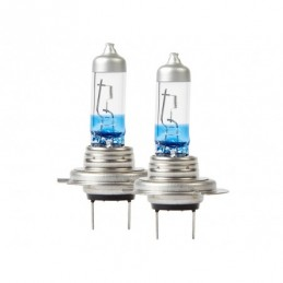 Xenon +130% H7 Halogen H/Lamp Bulb (Pair) Land Rover Discovery 1 Models 1989 - 1998 - Ring Air suspension Xenon +130% H7