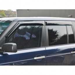 Front And Rear 4 Piece Wind Deflector Set Range Rover L322 Models 2002 - 2009 - Britpart