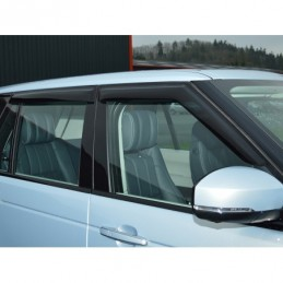 Front And Rear 4 Piece Wind Deflector Kit Range Rover L322 Models 2002 - 2009 - Britpart