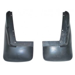 Rear Mud flap Kit For Twin Exhaust Models - Range Rover Mk2 P38A 4.0 4.6 V8 & 2.5 Td Models 1994-2002 - supplied by p38spares