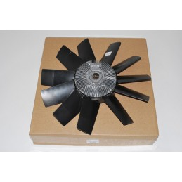 Range Rover Mk2 P38A 2.5 TD OEM Engine Cooling Fan Blade and Viscous Coupling - 1994-2002 Air suspension OEM Engine Cooling Fan