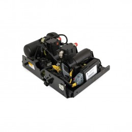 Dunlop Hummer H2 Series EAS Arnott Compressor Pump, Dryer & Valve Block Assembly 2008-2009