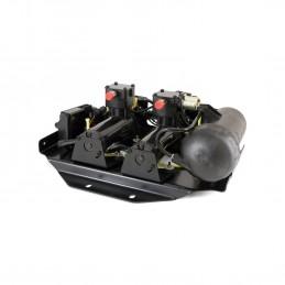 Dunlop Hummer H2 Series EAS Arnott Compressor Pump, Dryer & Valve Block Assembly 2008-2009 www.p38spares.com air, compressor, ea