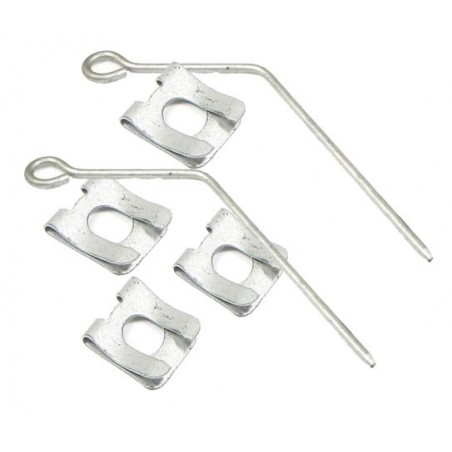 Front Range Rover P38 MKII Air Spring Retaining Clips Fits Left & Right All Models 1995-2002