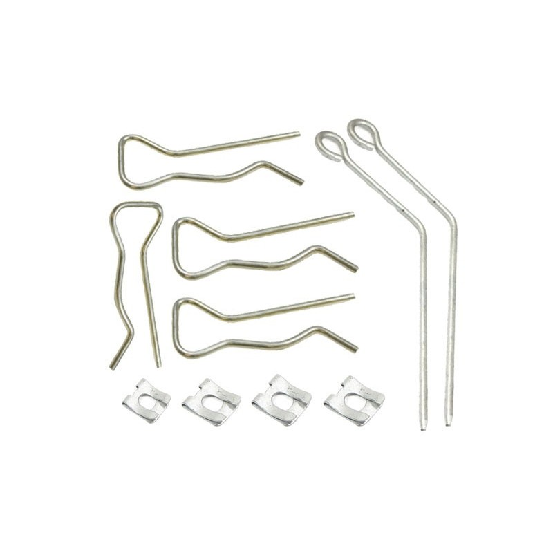 Front & Rear Range Rover P38 MKII Air Spring Retaining Clips All Models 1995-2002 - supplied by p38spares air, suspension, rov