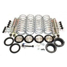 Range Rover P38 MKII Terrafirma Heavy Duty All-Terrain Shock Absorbers & Medium Load Springs Coil Conversion Kit 1995-2002