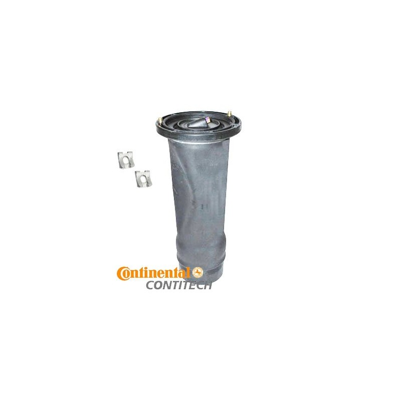 ContiTech Rear Discovery 2 OEM Air Suspension Spring & Clips 1998-2004 - supplied by p38spares air, rear, spring, bag, bellow,