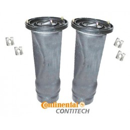 ContiTech Pair Rear Discovery 2 OEM Air Suspension Springs & Clips 1998-2004 www.p38spares.com air, rear, spring, bellow, balloo