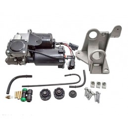 Hitachi Discovery 3 Complete Air Suspension Compressor Pump with Fitting Kit 2004-2009 www.p38spares.com compressor, eas, suspen