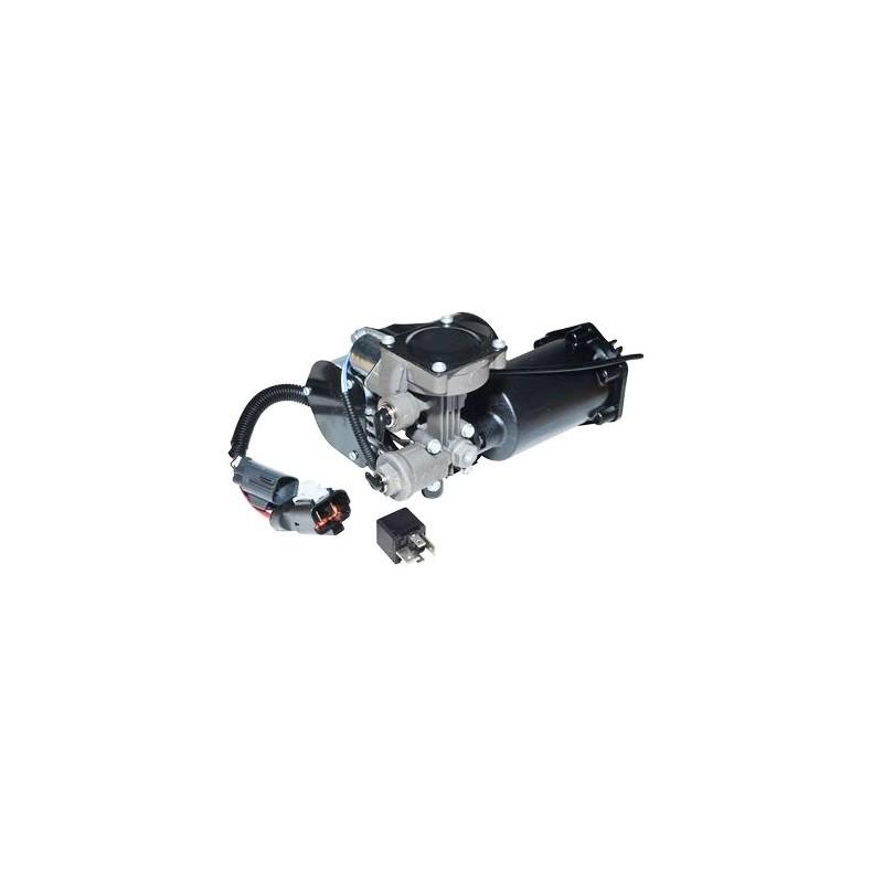 Hitachi Land Rover Discovery 3 LR3 EAS Compressor Pump with New Relay - 2009 www.p38spares.com compressor, pump, chassis, oe, to